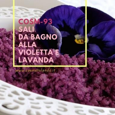 Sali da bagno alla violetta e lavanda – COSM-93