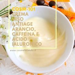 Home Crema viso antiage arancio, caffeina e acido ialuronico - COSM-101 COSM-101