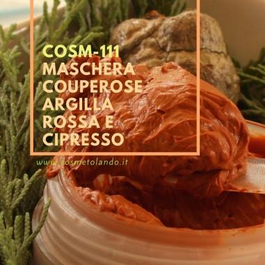 Maschera couperose argilla rossa e cipresso – COSM-111