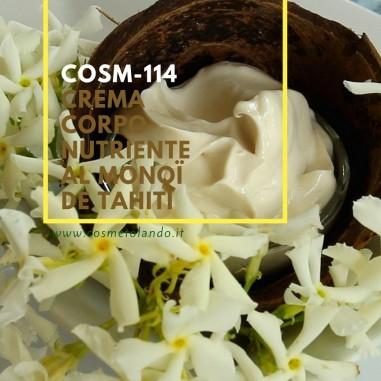Crema corpo nutriente al Monoï de Tahiti – COSM-114