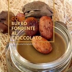 Home Burro fondente al cioccolato – COSM-119 COSM-119
