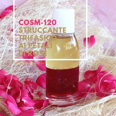 Struccante trifasico ai petali di rose – COSM-120