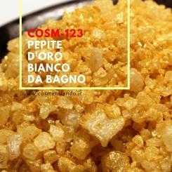Home Pepite d'oro bianco da bagno – COSM-123 COSM-123