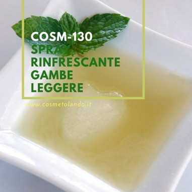Spray rinfrescante gambe leggere – COSM-130