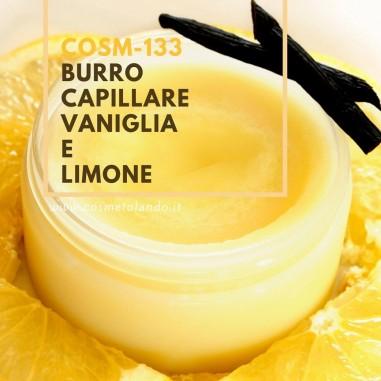 Burro corpo-capelli vaniglia e limone – COSM-133