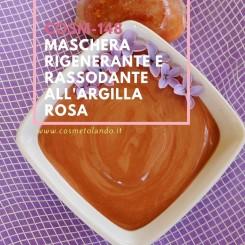 Home Maschera rigenerante e rassodante all'argilla rosa – COSM-148 COSM-148