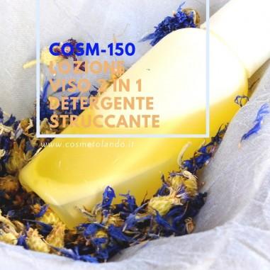 Lozione viso 2 in 1 detergente-struccante – COSM-150