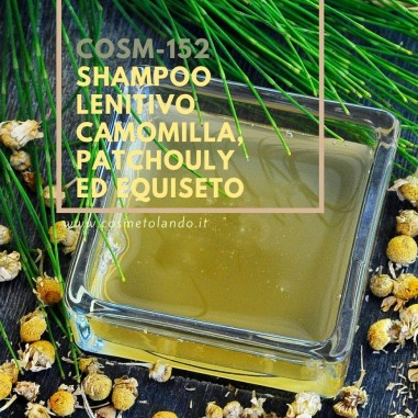 Home Shampoo lenitivo camomilla, patchouly ed equiseto – COSM-152 COSM-152
