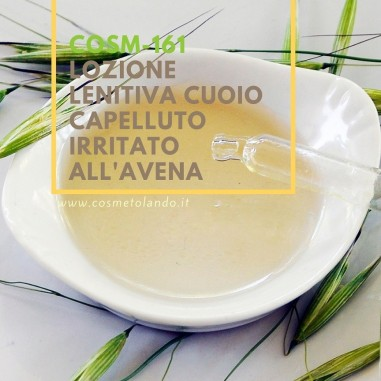 Home Lozione lenitiva cuoio capelluto irritato all'avena – COSM-161 COSM-161