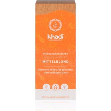 TINTURE VEGETALI KHADI® PER CAPELLI Tinta Vegetale KHADI Biondo Medio (Miele)