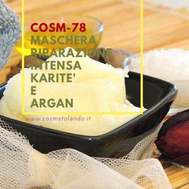Maschere viso Maschera riparazione intensa karitè e argan– COSM-78 COSM-78