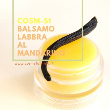 Labbra Balsamo labbra al mandarino – COSM-51 COSM-51