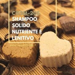 Home Shampoo solido nutriente e lenitivo – COSM-205 COSM-205