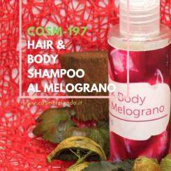 Home Hair & Body Shampoo al Melograno – COSM-197 COSM-197