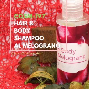 Shampoo Hair & Body Shampoo al Melograno – COSM-197 COSM-197