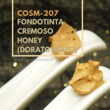 Make Up Fondotinta Cremoso Honey (Dorato Medio) - COSM-207 COSM-207