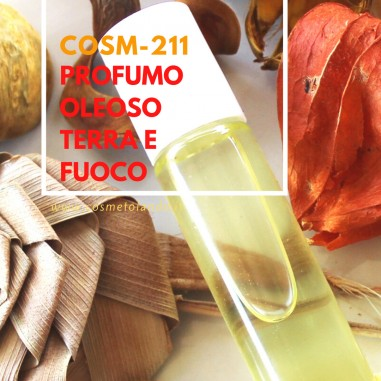 Profumi Corpo e Ambiente Profumo Oleoso Terra e Fuoco – COSM-211 COSM-211