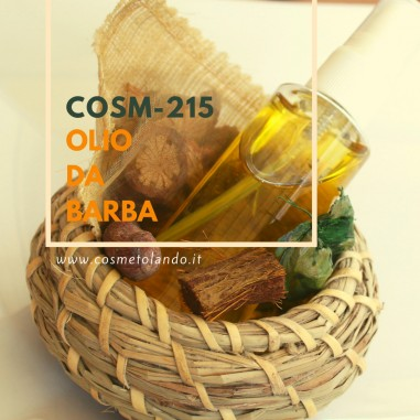 RICETTE COSMETICI FAI DA TE Olio da Barba – COSM-215 COSM-215