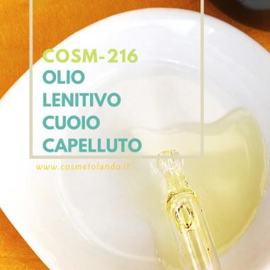 RICETTE COSMETICI FAI DA TE Olio Lenitivo per Cuoio Capelluto – COSM-216 COSM-216