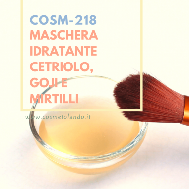 Maschere viso Maschera idratante cetriolo, goji e mirtilli – COSM-218 COSM-218