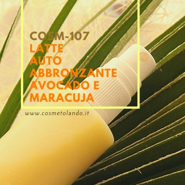 Effetto Bonne Mine Latte autoabbronzante avocado e maracuja – COSM-107 COSM-107