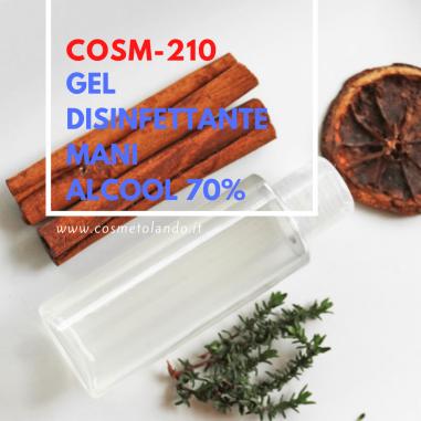 Mani e Piedi Gel disinfettante mani alcool 70% – COSM-210 COSM-210