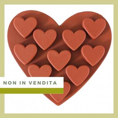 Prodotti NON in Vendita Stampo Cuori Cioccolatini in Silicone