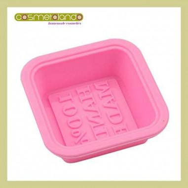 Stampi in Silicone Stampo Quadrato 100% Hand Made