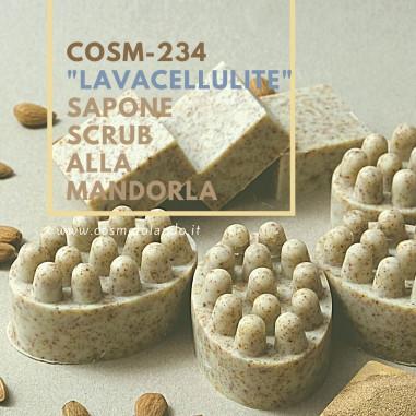 """Saponi Artigianali \\""""Lavacellulite\\"""" Sapone Scrub alla Mandorla – COSM-234 COSM-234"""