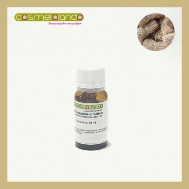 Oli Essenziali Olio Essenziale di Vetiver -  Vetiveria Zizanoides