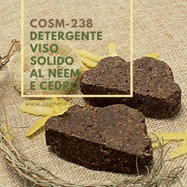 Detergenti Viso e Corpo Detergente viso solido al neem e cedro – COSM-238 COSM-238