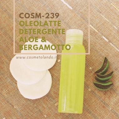 Struccanti e Tonici Viso Oleolatte Detergente Aloe & Bergamotto – COSM-239 COSM-239