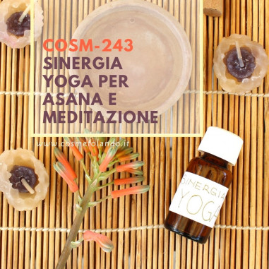 Cura e Benessere Sinergia Yoga per Asana e Meditazione – COSM-243 COSM-243