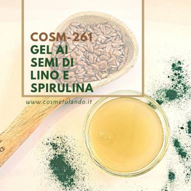 Lozioni e gel Gel ai Semi di Lino e Spirulina – COSM-261 COSM-261